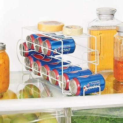 mDesign Organizador de frigorífico para alimentos – Moderno ...