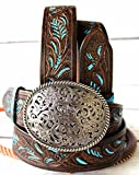 47-48 ProRider Womens Mens Leather Belt Handmade Carved - Best Reviews Guide