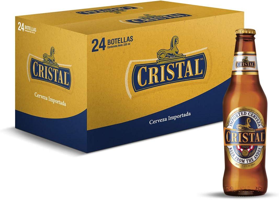 Cerveza Cristal - caja de 24 botellas x 33cl