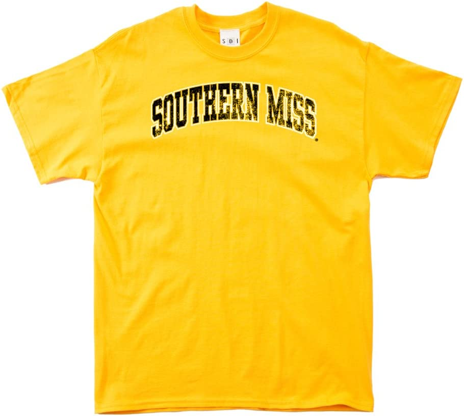 NCAA Southern Mississippi Golden Eagles 100-Percent Pre-Shrunk Vintage Circle Long Sleeve Tee
