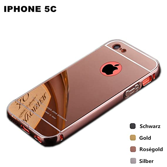 Image Unavailable. Image not available for. Color  iPhone 5C Rose Gold  Mirrored Case ... 41c0724fd1
