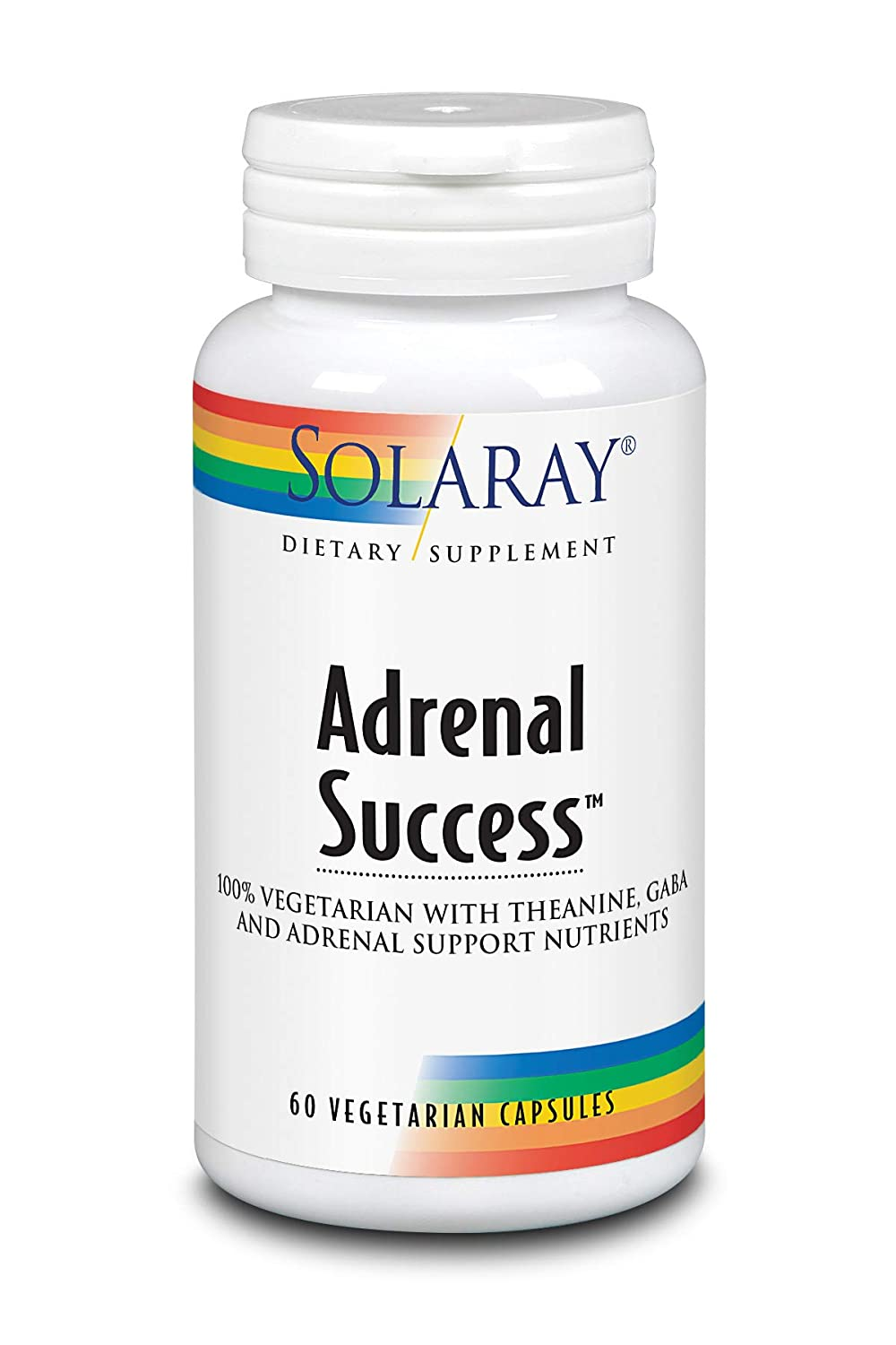 Solaray Adrenal Success | Hierbas adaptógenas + GABA & L ...