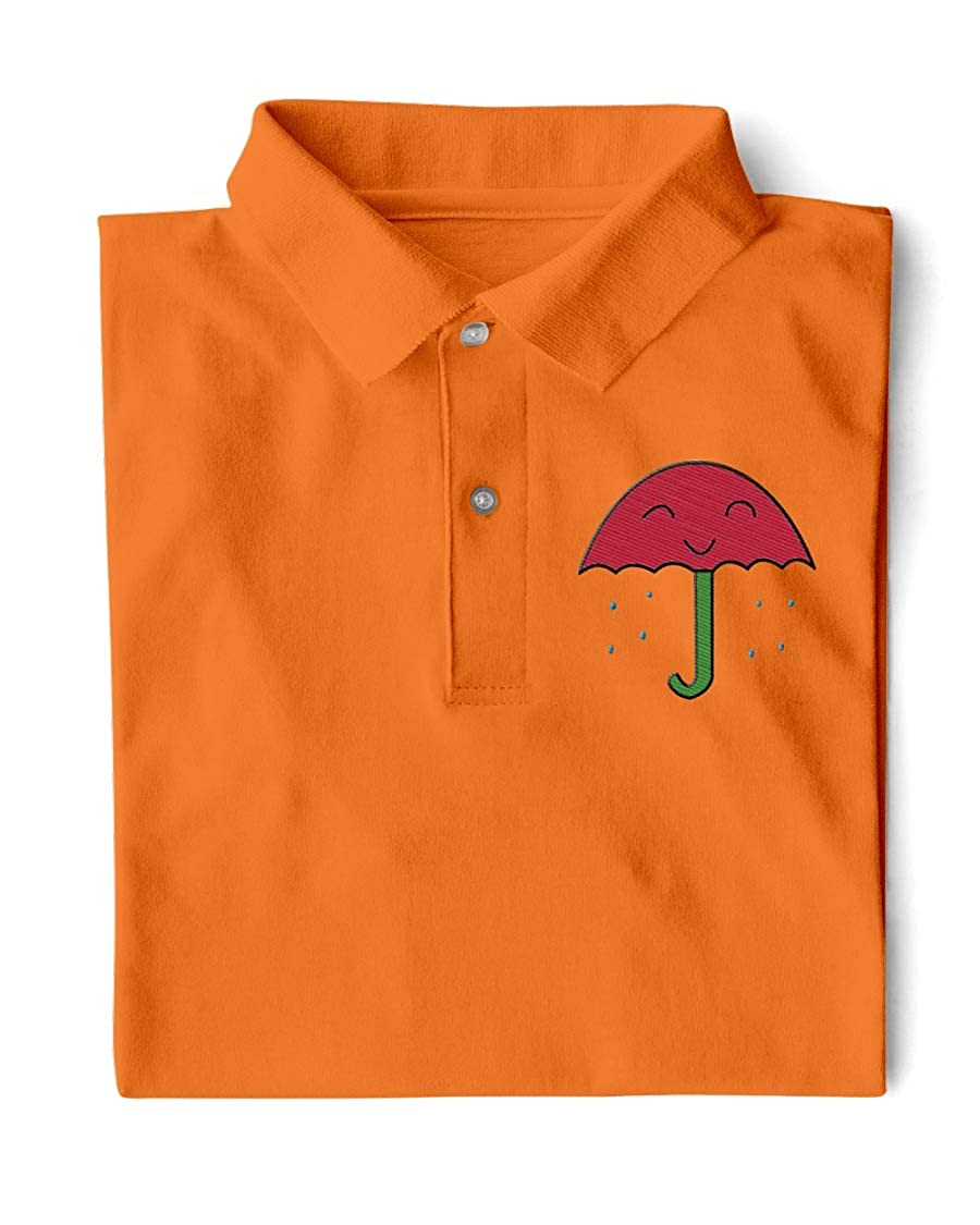 Donna Moritzs DM Rain Classic Polo Burnt Orange XL
