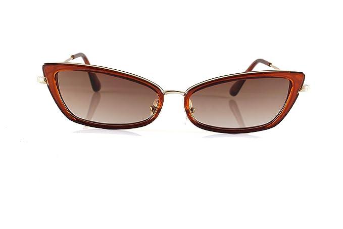 Amazon.com: Gafas de sol rectangulares con triángulo ancho y ...