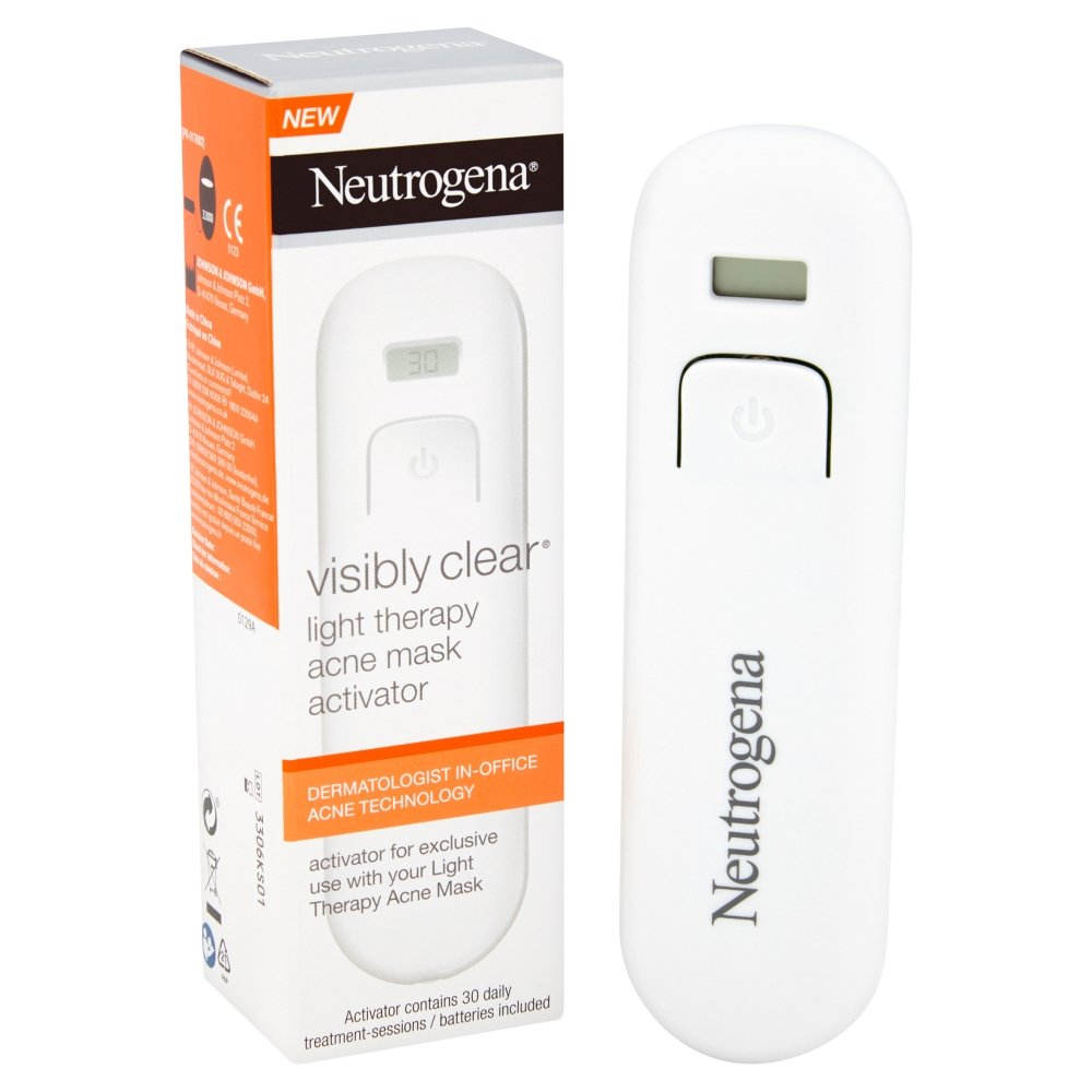 Máscara antiacné Neutrogena® Visibly Clear® de fototerapia: Amazon.es: Belleza