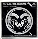 Colorado State Rams 6'' MAGNET Silver Metallic Style Vinyl Auto Home University of