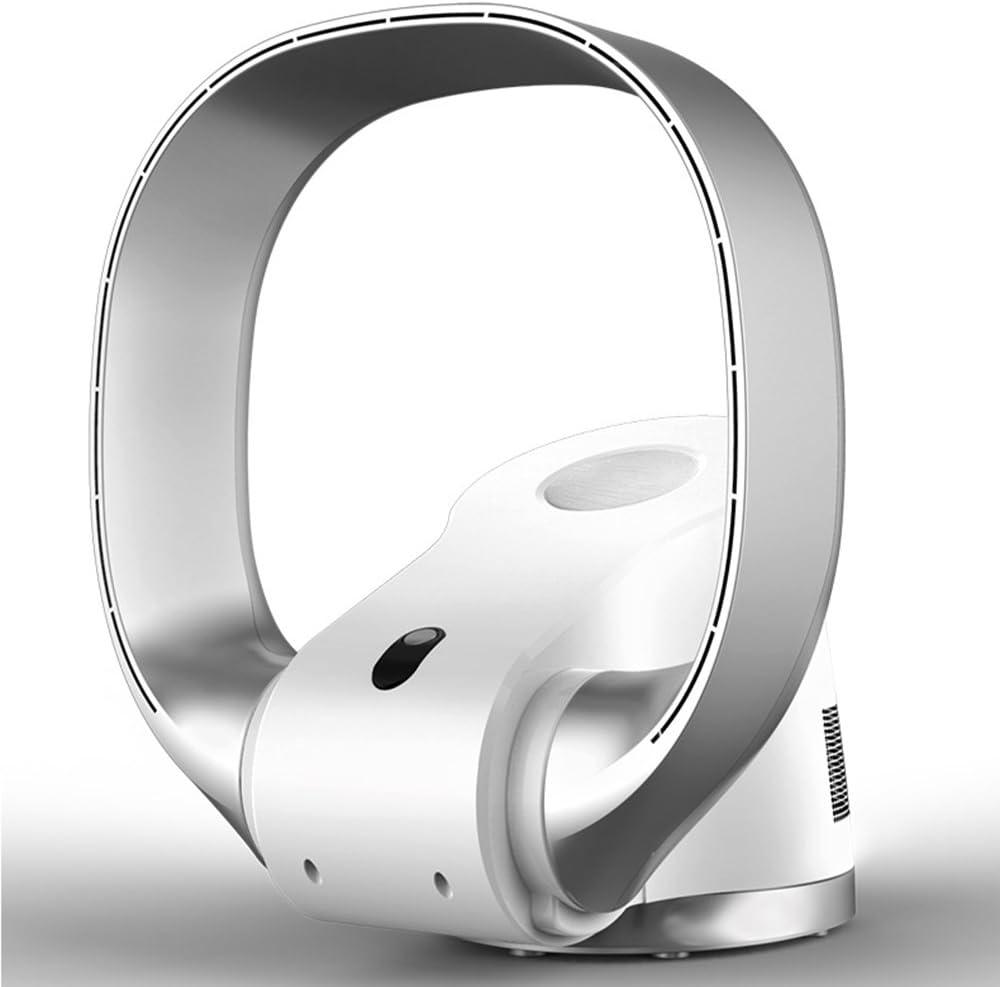 ZXQZ Ventilador eléctrico Ventilador silencioso de Pared Ventilador silencioso Ventilador Remoto sin Hojas Ventilador portátil Plegable de bajo Consumo de energía Fan