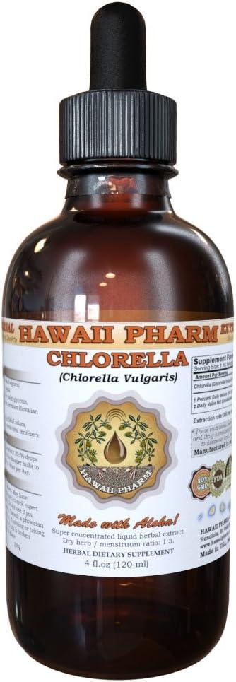 Chlorella Liquid Extract, Chlorella Chlorella vulgaris Tincture 4 oz