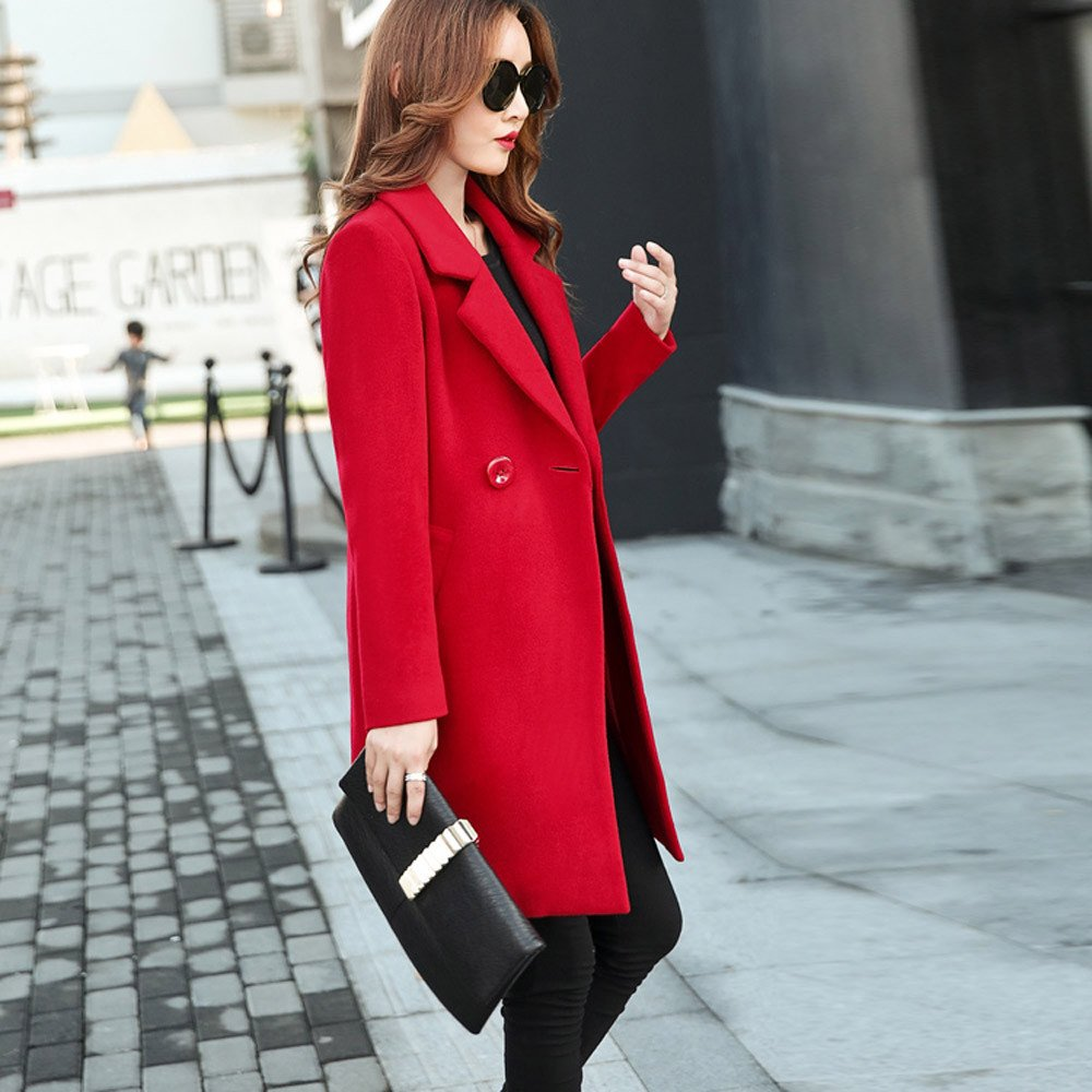 Amazon.com: Chaqueta para mujer Blazers Kulywon con chaqueta ...