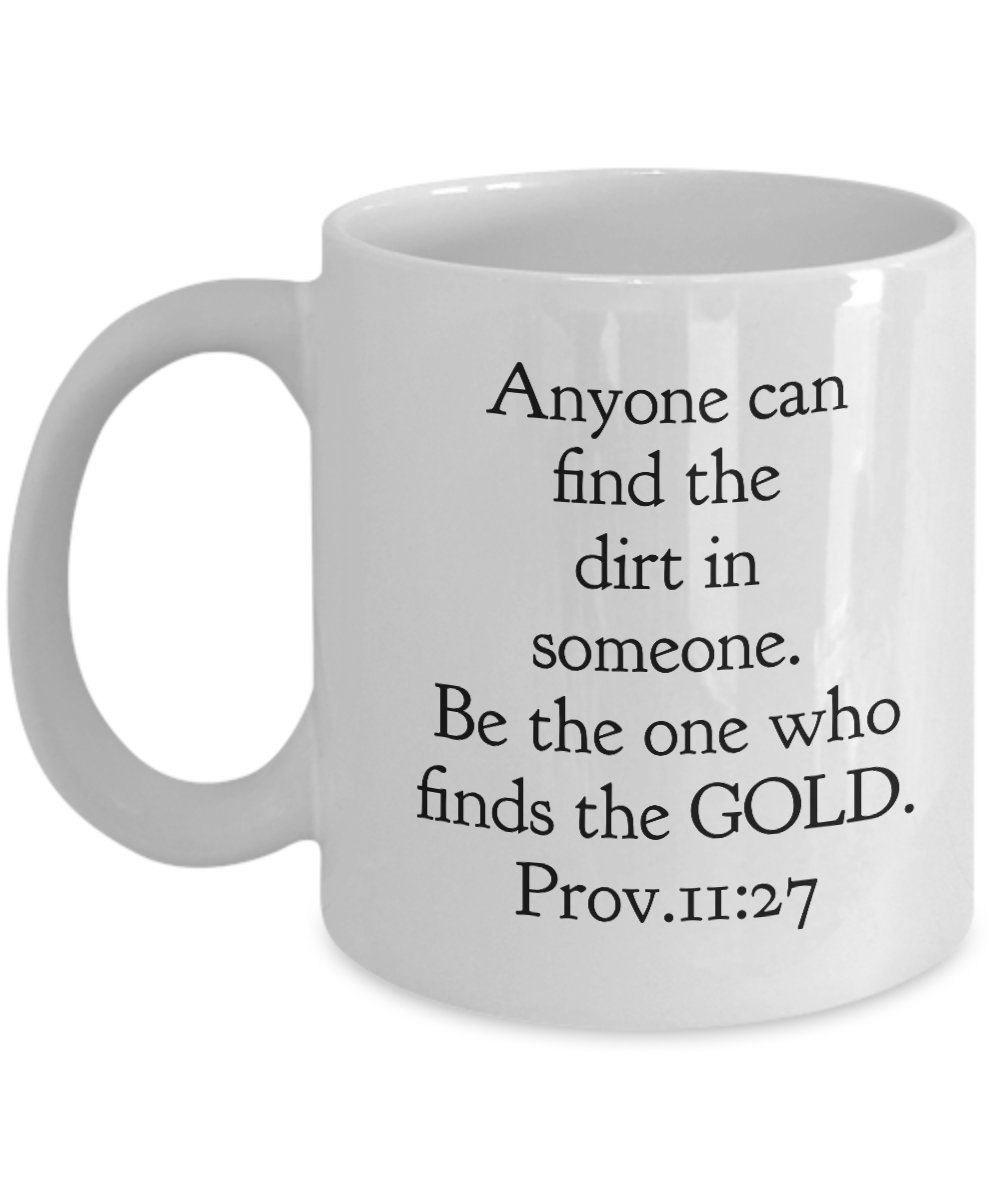 Anyone can find - Bible Scripture Mug