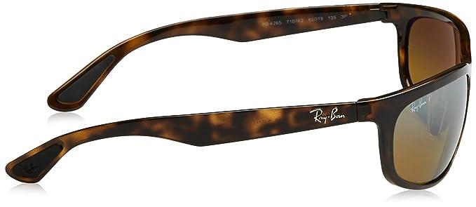 Ray-Ban RAYBAN 4265, Gafas de Sol para Hombre, Shiny Havana, 62