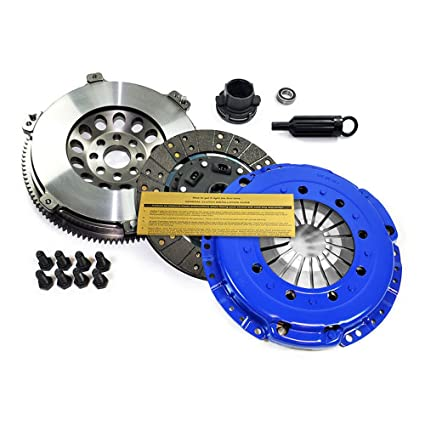 Amazon.com: EFT STAGE 2 CLUTCH KIT & CHROMOLY RACE FLYWHEEL for 01-06 BMW M3 E46 3.2L S54: Automotive