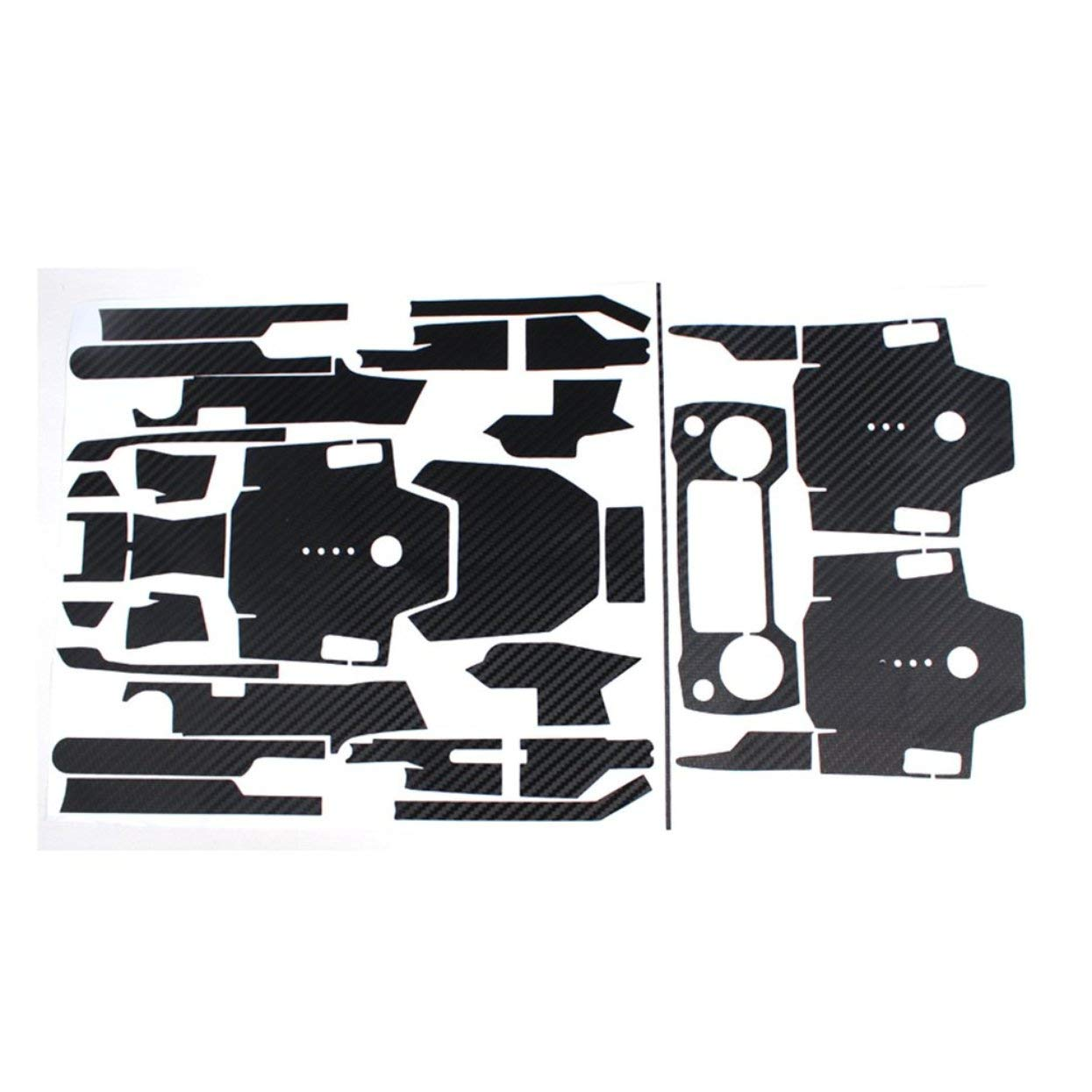Serie Completa di Adesivi Accessori Corpo Tellaboull for Fibra di Carbonio Telecomando per DJI Mavic PRO Adesivi Impermeabili Braccio