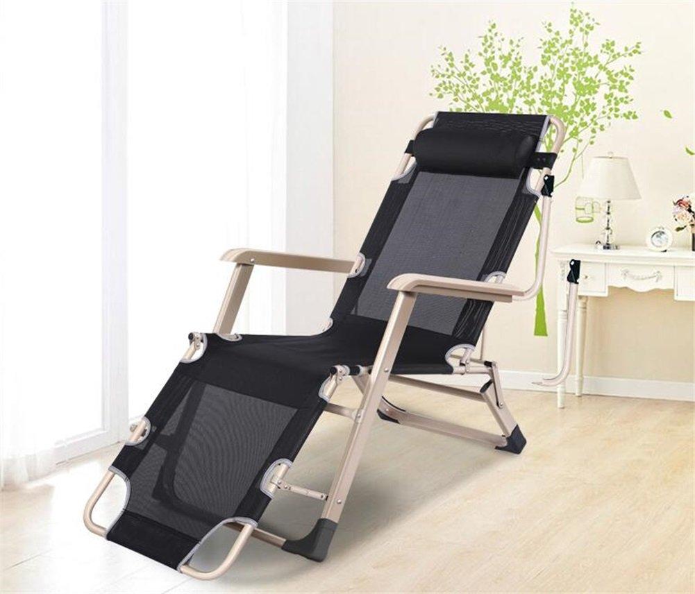 ZXH Folding Recliner Alter Mann Nap Break Chair Multifunktions Büro Home Balkon Freizeit Stuhl