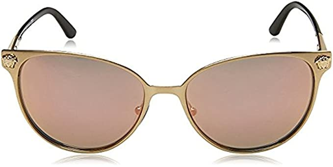 6ab5a3777d21 Amazon.com: Versace Women's VE2168 Sunglasses 57mm: Clothing