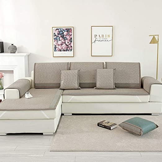 LIUWAN Cojín de sofá de Mimbre de Verano Minimalista Moderno ...