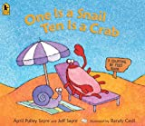One Is a Snail, Ten Is a Crab Big Book, Jeff Sayre, 076364790X