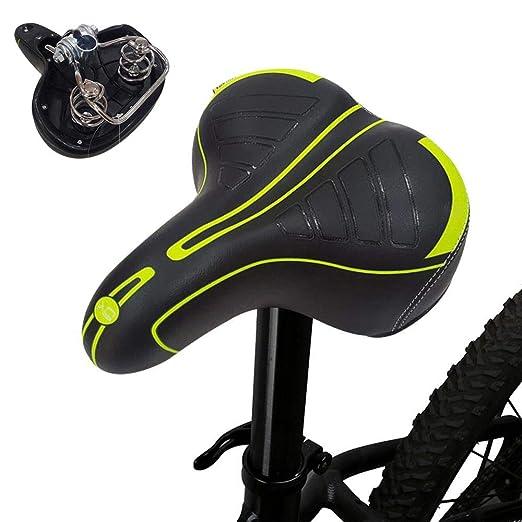 lesgos Asiento de Bicicleta, Reemplazo de sillín de Bicicleta de ...