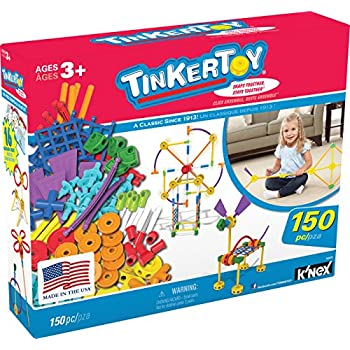 TINKERTOY – Essentials Value Set – 150 Pieces –  Ages 3+ Preschool Educational Toy