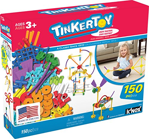 TINKERTOY 150 Piece Essentials Value Set