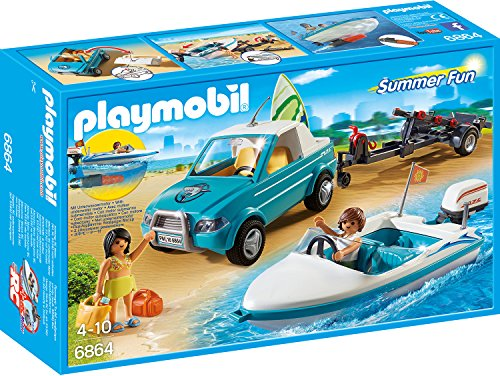 Playmobil 6864 Surfer Pickup Mit Speedboat Amazon De Spielzeug