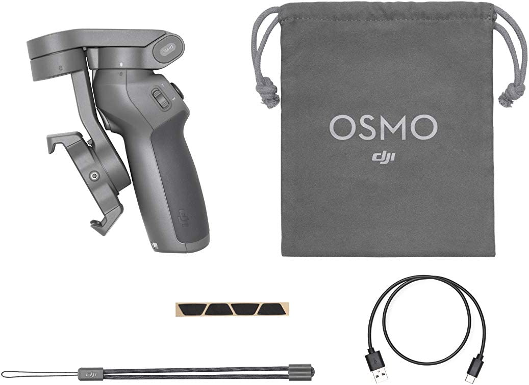 Tr/ípode DJI Osmo Mobile 3 Estabilizador de 3 Ejes para Smartphone Compatible