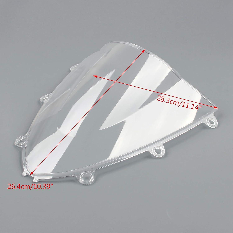 Artudatech Motorbike Windshield Front Motorcycle Windscreen Wind Shield Windshields Wind Screen for H-O-N-D-A CBR 1000RR 2008 2009 2010 2011