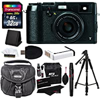 Fujifilm X100T 16 MP Digital Camera (Black) + 32GB SDHC + 57