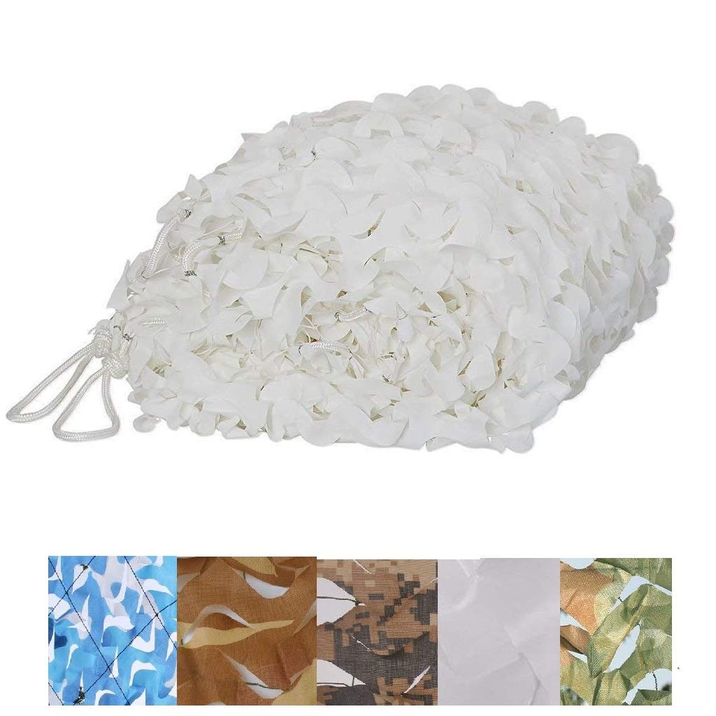 10x10m Personnaliser Disponible Huenco Woodland Camouflage Filet Bleu Blanc Camo Net Blind 2x3m 3x4m 4x5m