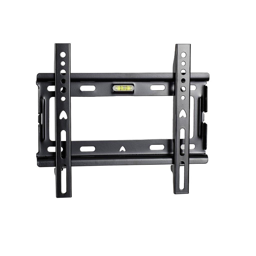 ユニバーサル14 – 32インチLCD TVブラケット、ブラック固定wall-mountモニタTVスタンド、冷間圧延鋼材質TVスタンド、超荷重を受ける30 kg   B07G355D9W