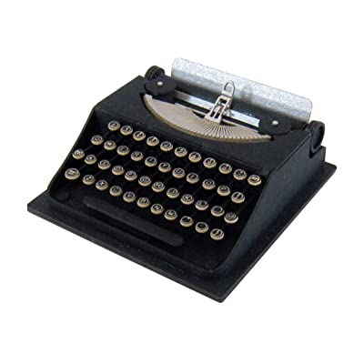 Petit MIX scale typewriter and 1/8 miniature MP01-113 (Paper Craft) (japan import): Toys & Games