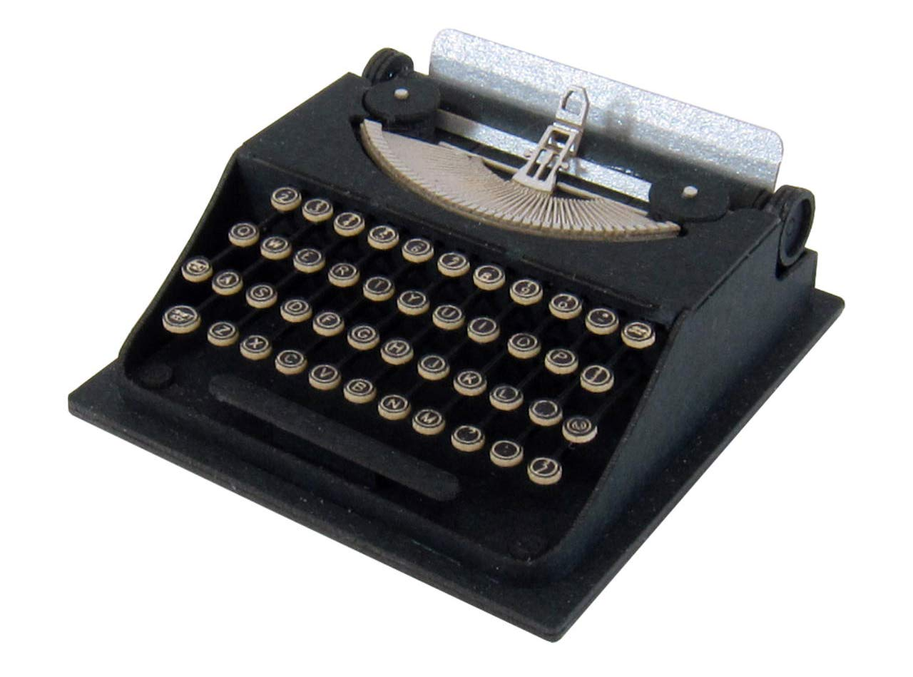 Petit MIX scale typewriter and 1/8 miniature MP01-113 (Paper Craft) (japan import)
