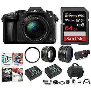 Panasonic LUMIX DMC-G85MK 4K Mirrorless Lens Camera Kit