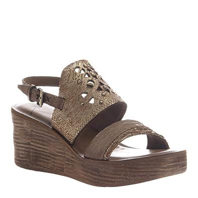 5a1d9ee1d Amazon.com | OTBT Women's Hippie Wedge Sandals | Platforms & Wedges
