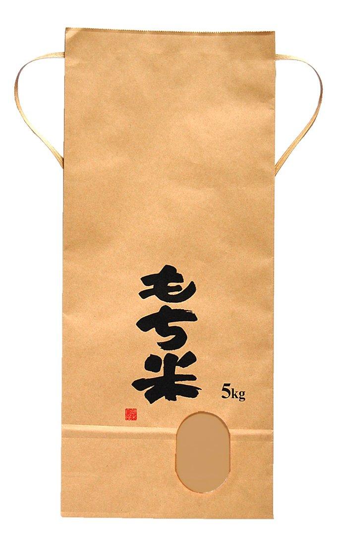 マルタカ クラフトSP 保湿タイプ もち米 田舎だより 5kg用紐付 100枚セット KHP-400 B00OZ3WXVC 5kg用米袋|100枚入り 100枚入り 5kg用米袋
