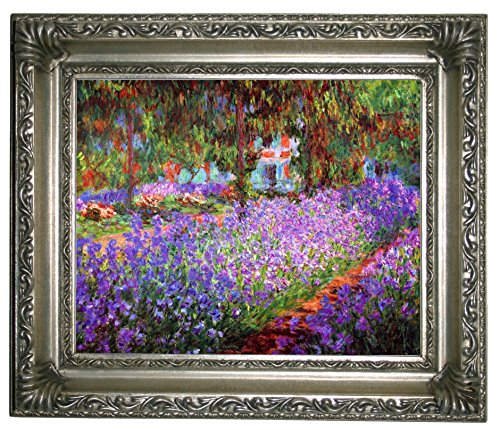 Historic Art Gallery the Artists Garden At Giverny by Claude Monet, 8