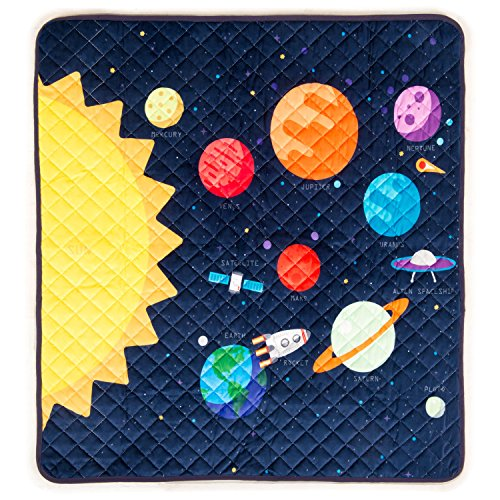 HIDEABOO Playmat for Baby and Kids 34 x 33 Inches - Floor Mat with Play - Blanket Play