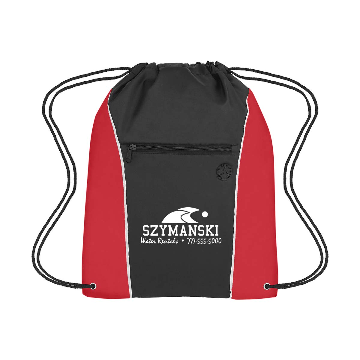 Promotional Product Imprinted /& Personalized Bulk with Your Custom Logo Promo Direct 24612-Gray Vertical Sports Pack 4.46 Each 50 Qty
