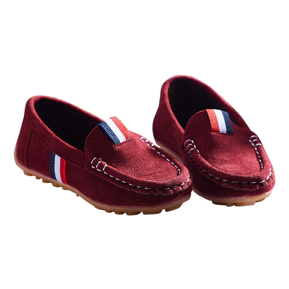 Buy Hopscotch Boys Loafers in Maroon Colour at Amazon.in