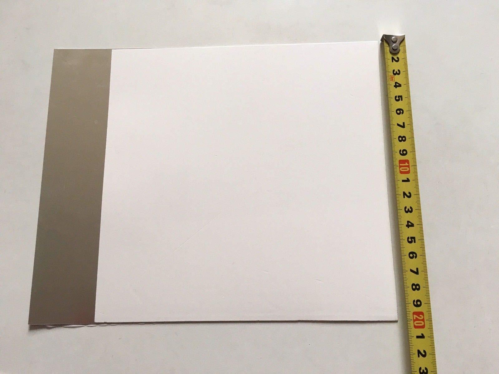 AAdvance Instruments TLC Plates Aluminum Backed Silica Gel 60 F254 20cm x 20cm 12/Box by AAdvance Instruments