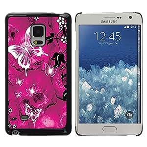 - Butterfly Design - - Fashion Dream Catcher Design Hard Plastic Protective Case Cover FOR Samsung Galaxy Mega 5.8 Retro Candy