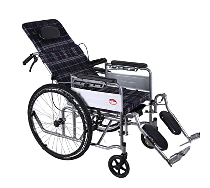 M-CH silla de ruedas Carrito Plegable para Silla de Ruedas, Incapacitado, Silla