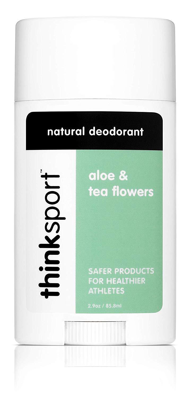 Thinksport Deodorant, Aloe and Tea Flowers (2.9 ounce)