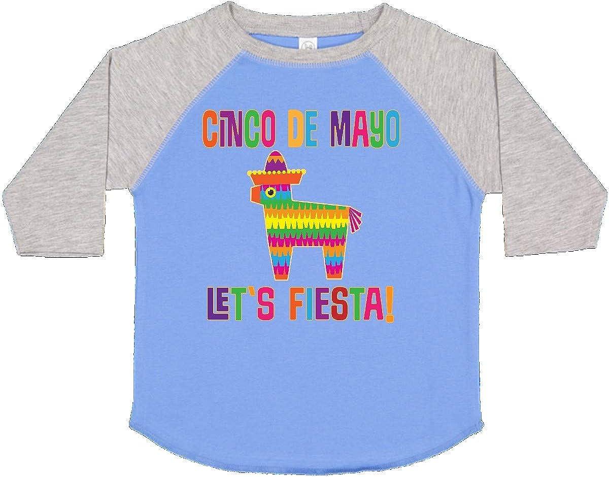 inktastic Cinco De Mayo Pinata Lets Fiesta Toddler T-Shirt