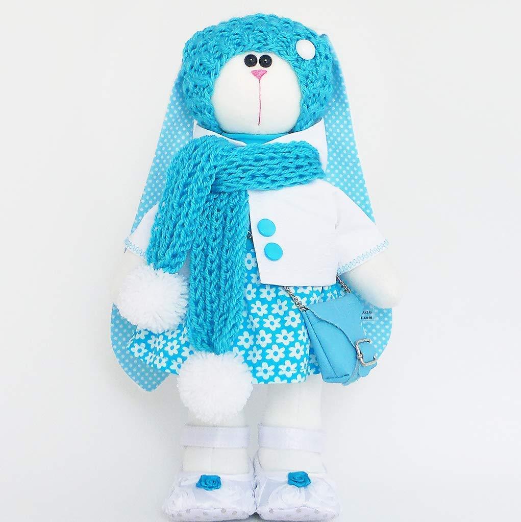 Stuffed bunny doll Handmade by ZuzuHappyToys …