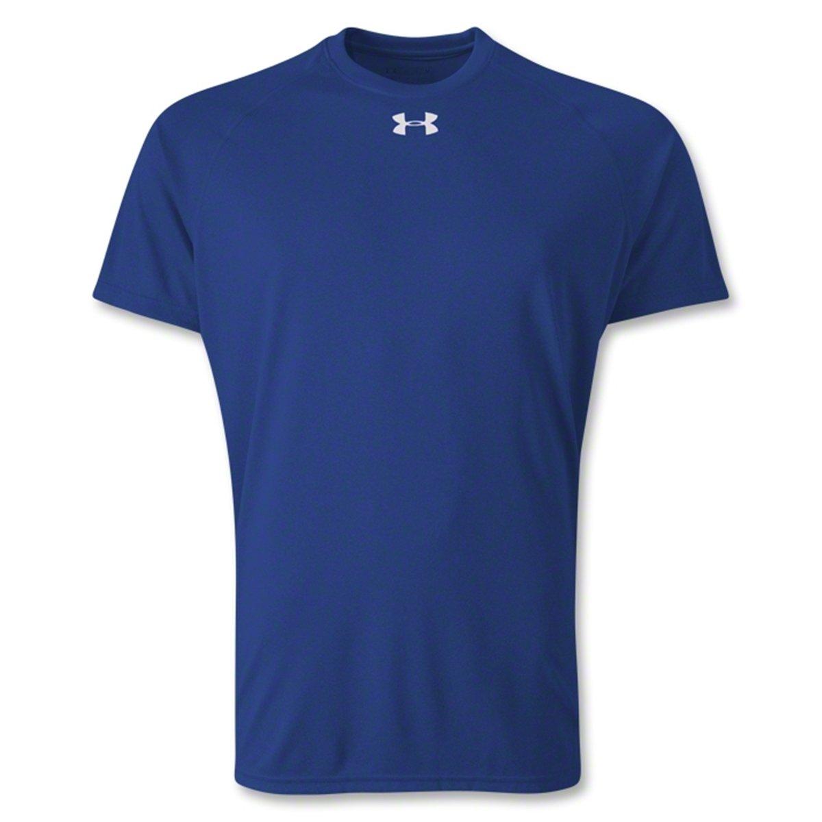 cf073214 Under Armour Men's Locker Short Sleeve T-Shirt Royal Small ...