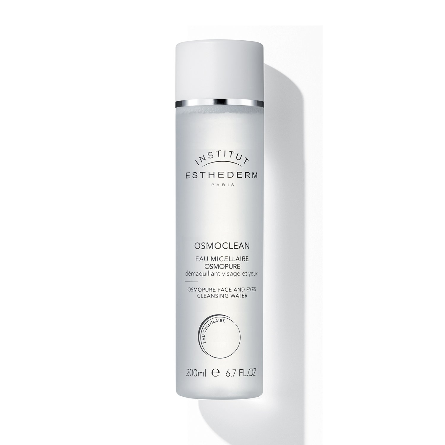Institut Esthederm Cleansing Water Face and Eyes, energizing lotion with high cleansing properties - 6.76oz