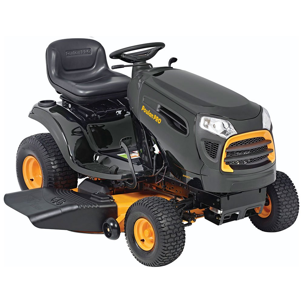 Poulan Pro 960420188 Briggs and Stratton 20 hp Pedal Control Automatic Drive Riding Mower, 46'' 46000 Outdoor Power Issue - Over LTL Weight Max