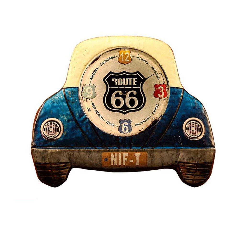 車のヘッドLEDの壁時計のベッドルームペンダントの装飾的な壁の時計のベッドルームのミュートの壁時計 GAODUZI (色 : E(No LED)) B07FTCYFZY E(No LED) E(No LED)