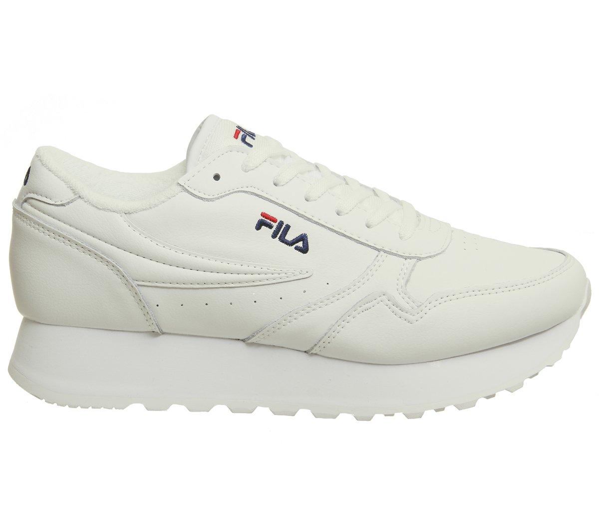 Fila Damen Schuhe/Sneaker Sport L Orbit Zeppa L Sport Weiß cfeb1b